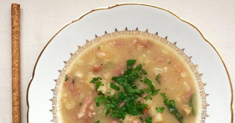 Italiaanse knolselderij soep
