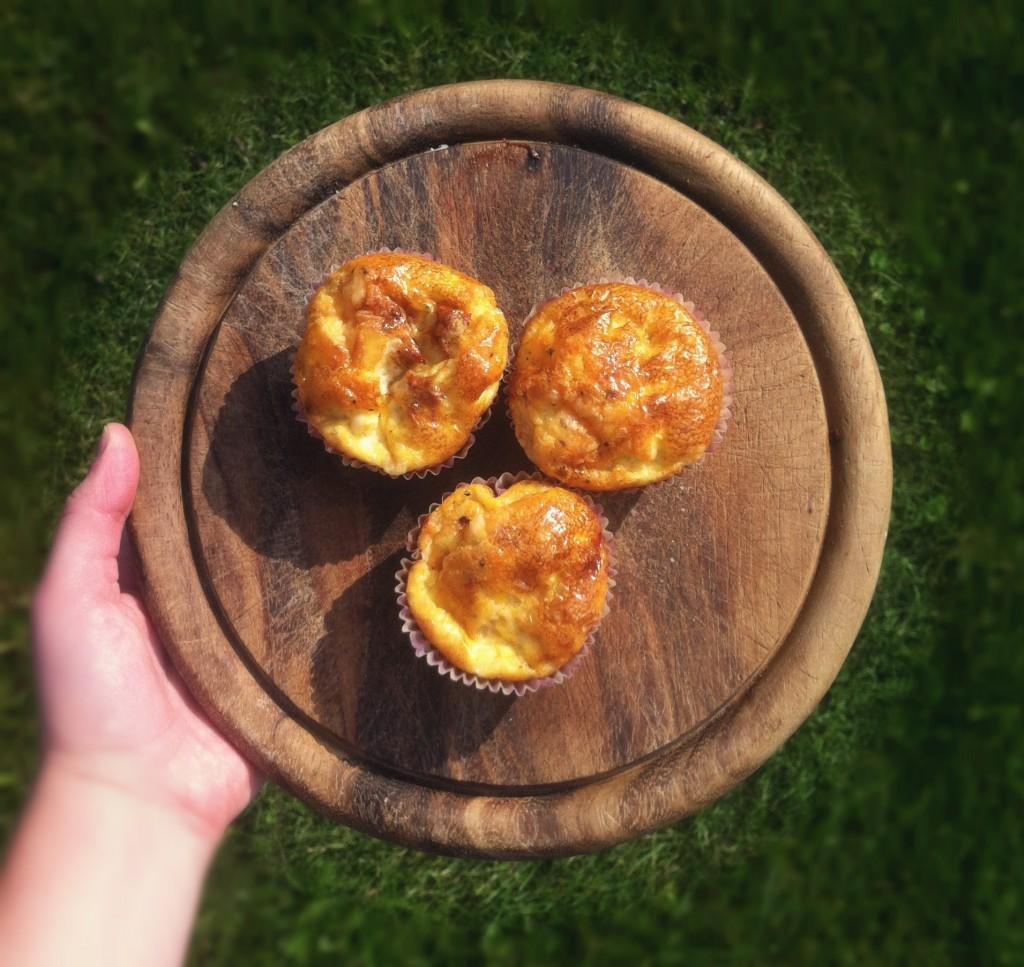 Hartige ei-muffins