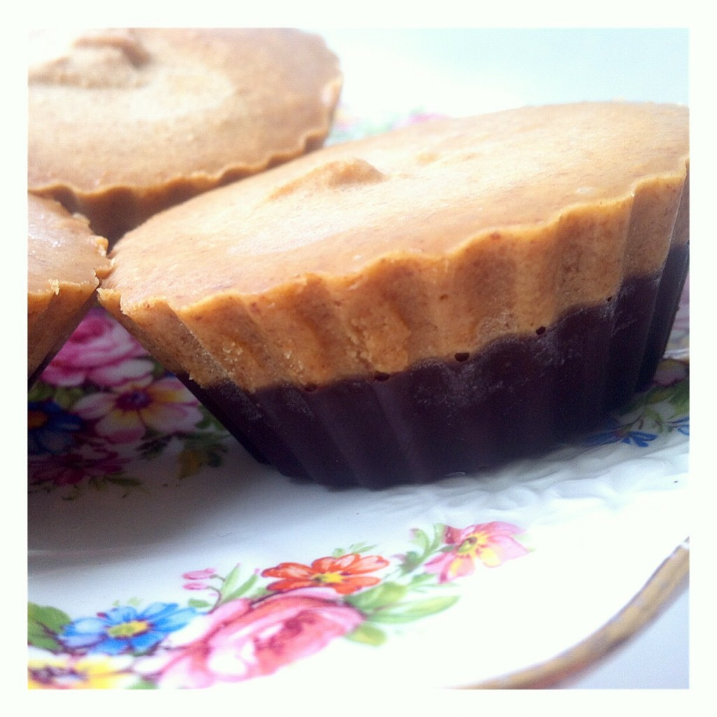 Pindakaas + chocolade = peanutbuttercups