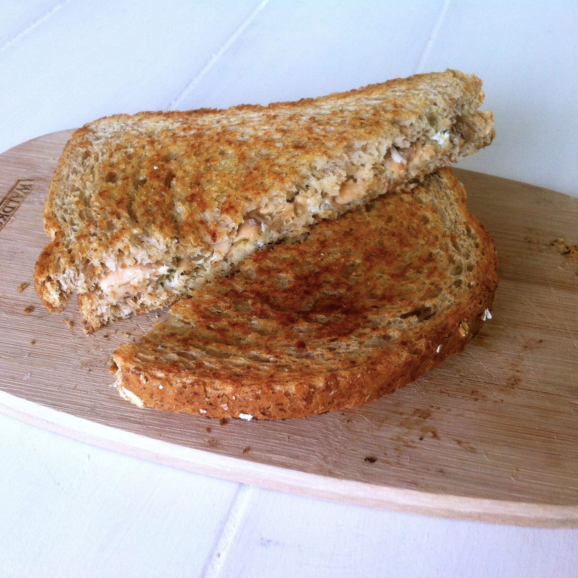 Eiwitrijke tosti met gezonde vetten