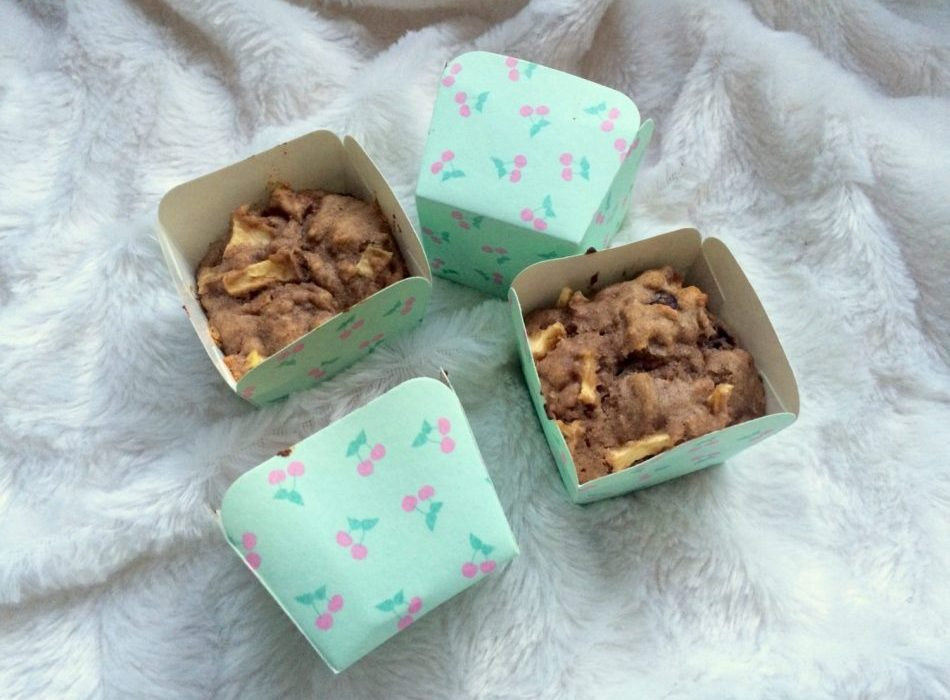 talitha beudeker, appelcakejes, appel, cake, appelcake, muffins, gezonde muffins, gezonde cake, gezond tussendoortje