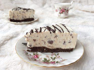 gezonde taart, straciattella taart, gezonde stracciatella taart, stracciatelle, gezonde stracciatella, stracciatella taart