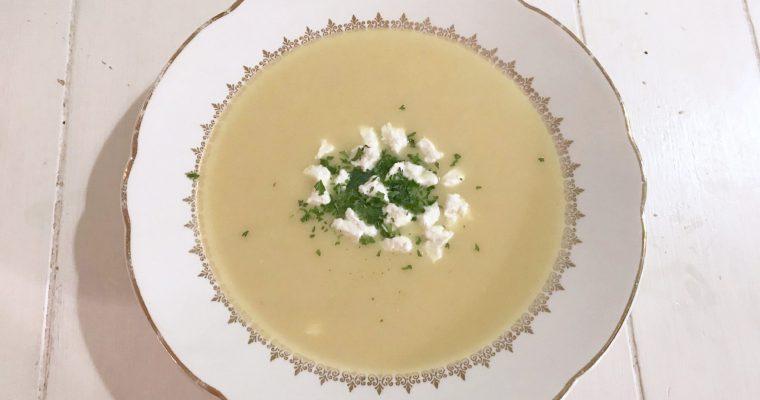 Honingmosterd soep met pastinaak